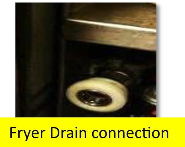 Bulk Oil Systems Drain and Fill Connections Fryer Drain Connection