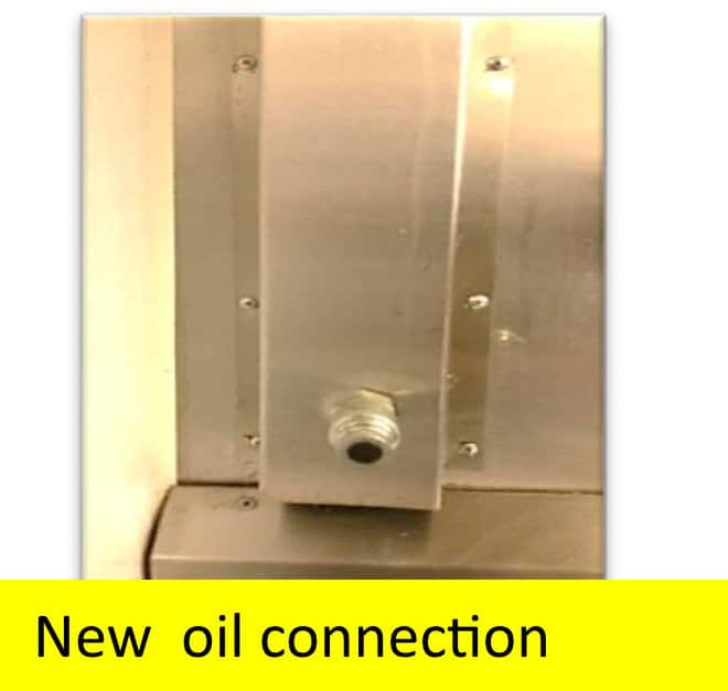Bulk Oil Systems Drain and Fill Connections New Oil Connection
