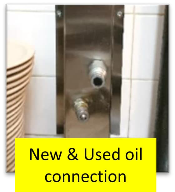 Bulk Oil Systems Drain and Fill Connections New and Used Oil Connection