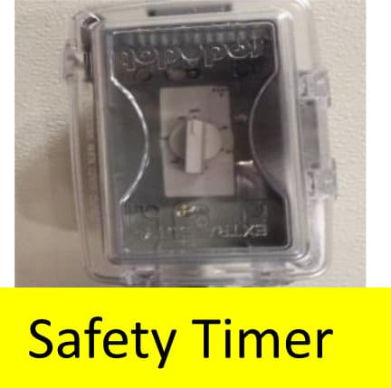 Bulk Oil Systems Drain and Fill Connections Safety Timer