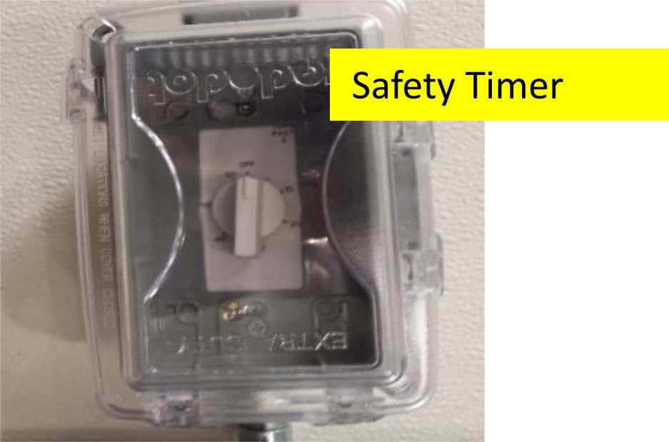 Bulk Oil Systems Safety Timer