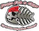 Pirates Fish and Chips Logo