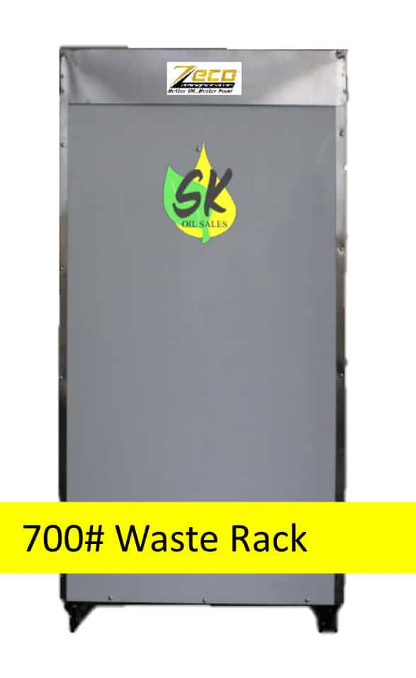 Bulk Oil Systems Drain and Fill Connections 700# Waste Rack