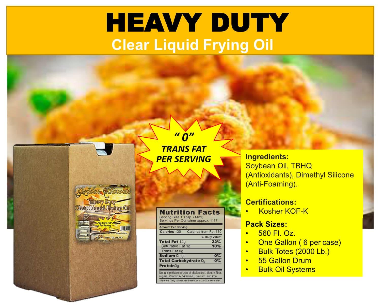 Heavy Duty Soybean Oil